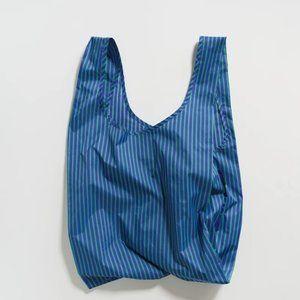 BAGGU Reusable Grocery Bag - Cobalt and Jade
